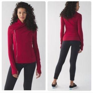 Lululemon Bhakti Yoga Zip Jacket Red Size 4